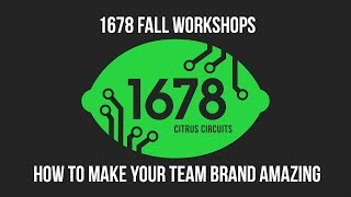 Fall Workshops 2018 - How to Make Your Team Brand Amazing