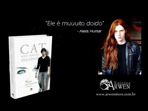 Cat, meu amigo psicopata - book trailer