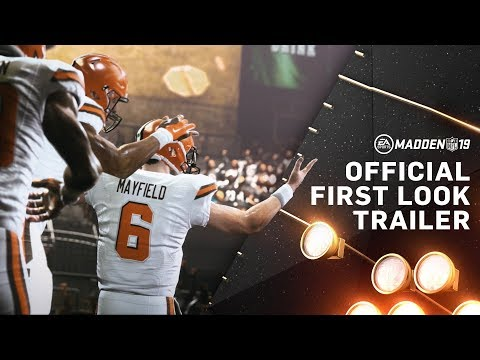 Madden NFL 19 – Official Reveal Trailer thumbnail