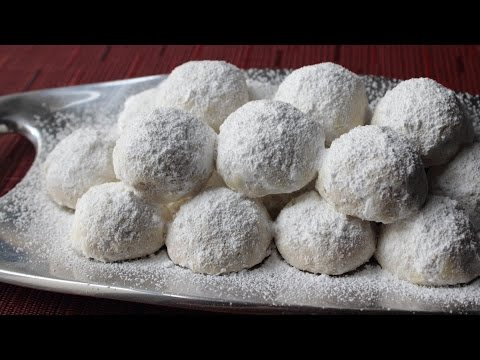 Russian Tea Cakes – Easy Tea Cookies Recipe aka Wedding Cookies