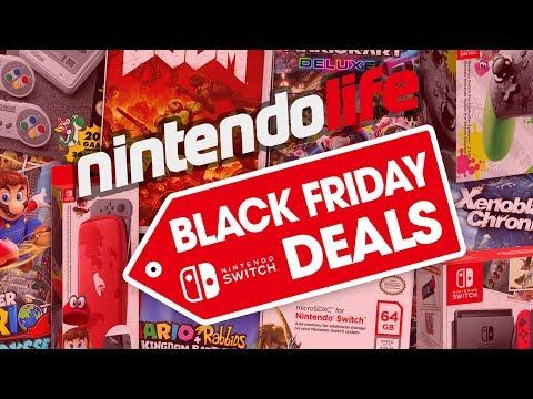 The Best Nintendo Switch Black Friday Deals 2017