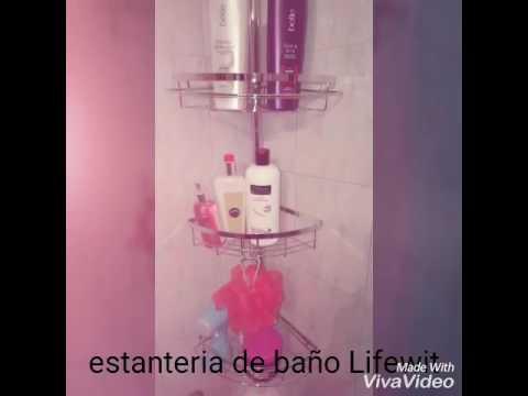 Estanteria de baño Lifewit