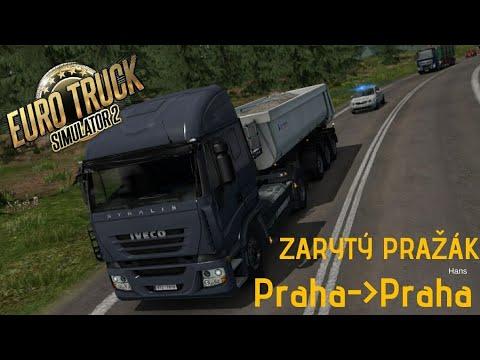 KURVA ZARYTÝ PRAŽÁK | EURO TRUCK SIMULATOR 2 | e04#02 | StarzGamez | CZ/SK