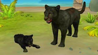 СИМУЛЯТОР ПАНТЕРЫ #1 котята пантер виртуальный питомец развлекательное видео для детей