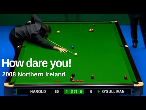 Ronnie O'Sullivan | Three Counter Attacks (memorable steal incl.) | 2008 Northern Ireland Trophy