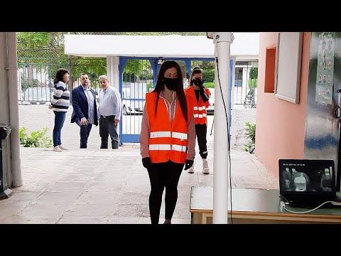 Γλυφάδα: Με θερμομέτρηση στις αίθουσες οι μαθητές