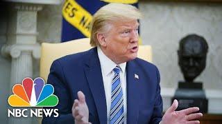 Live: President Donald Trump Meets With Louisiana Governor John Bel Edwards | NBC News
