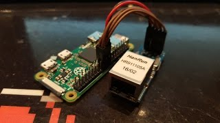 Adding Ethernet To A Raspberry Pi Zero Using The GPIO Pins (and Not The USB Port)