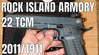 Rock Island Armory: 22 TCM Single Stack Fullsize 2011/1911 BUY THIS PISTOL!