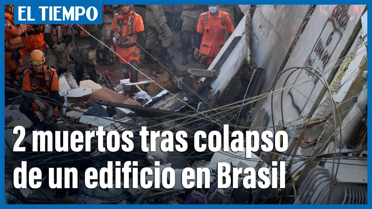 Colapso de edificio en Rio de Janeiro