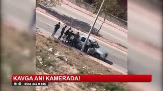 Konya'da kavga anı kamerada