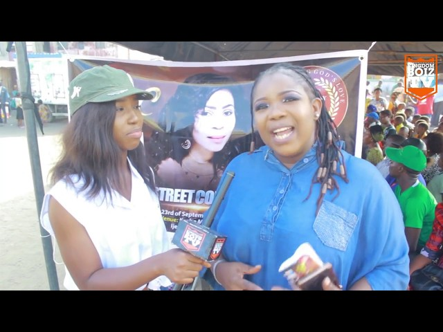 Sabina Np Speaks To Kingdomboiz Tv, She Reveals More About Pray4NaijaWaka2017