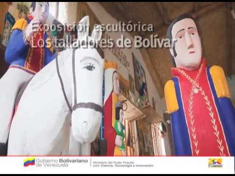 Exposición Los Talladores de Bolívar