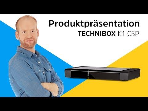 TECHNIBOX K1 CSP | HDTV-Kabelreceiver mit integriertem Conax-CSP-Entschlüsselungssystem | TechniSat