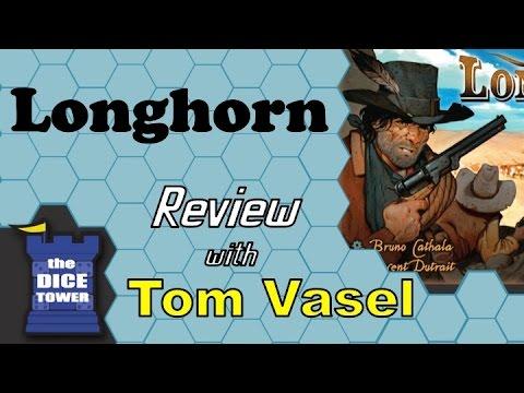 Dice Tower Reviews: Longhorn