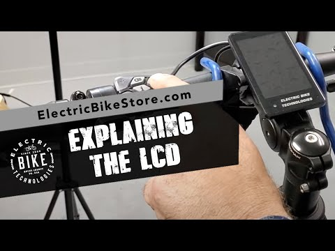 Electric Bike Technologies | How To Use the LCD