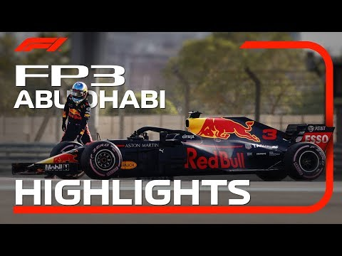 2018 Abu Dhabi Grand Prix: FP3 Highlights