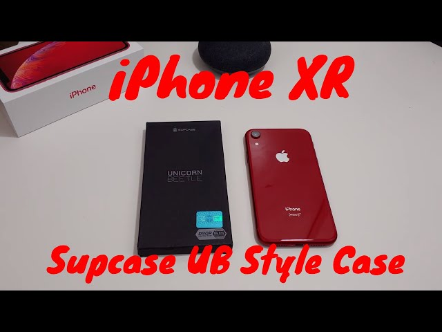 buy popular 81451 ed4b5 iPhone XR Supcase Unicorn Beetle Style Case Review - Vinepk