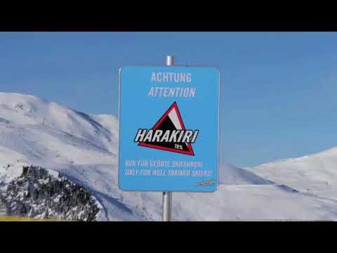 Harakiri Piste der Mayrhofner Bergbahnen