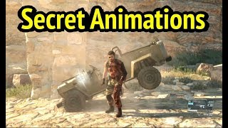 Concealed Animations in Mission 11 [Cloaked in Silence] of MGSV: Phantom Pain (Metal Gear Solid 5)