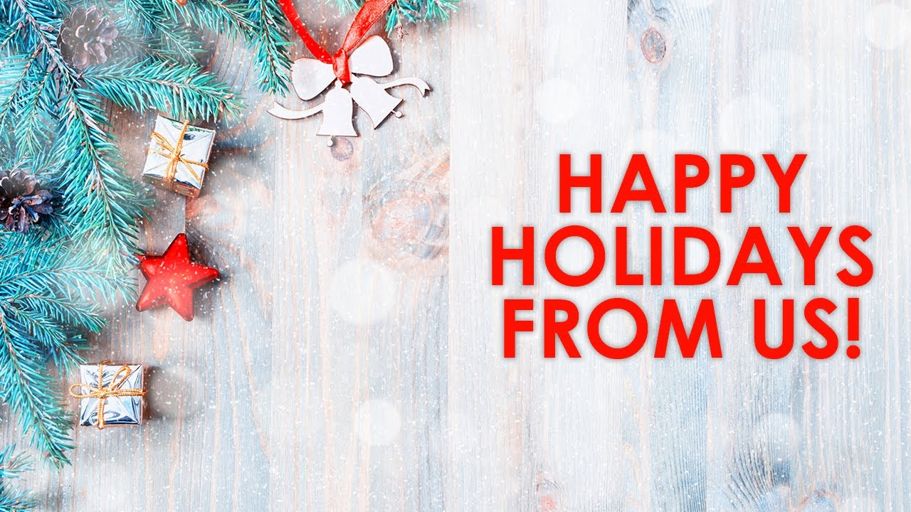 Happy Holidays From Healthy Realty!