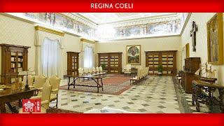 Regina Coeli 24 maggio 2020 Papa Francesco