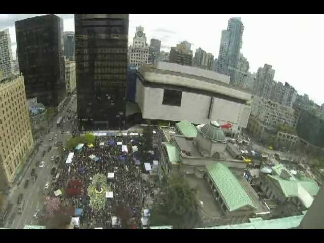 Time lapse of 420 2013 at The Vancouver Art Gallery