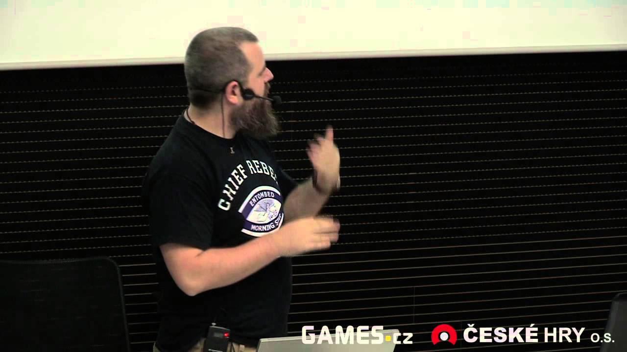 GDS 2012: Dan Vávra - Game design v praxi