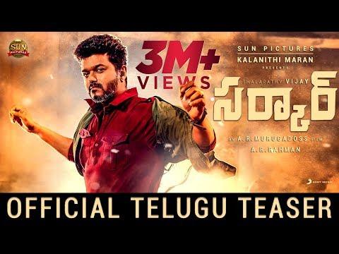 Sarkar Official Teaser[Telugu]