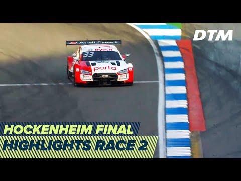 DTM ホッケンハイム(ドイツ) 2020 レース2ハイライト動画