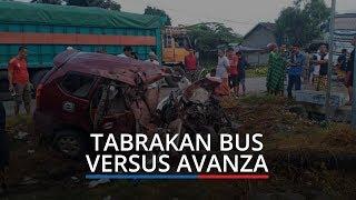 Tabrakan Bus Bintang Timur Versus Avanza di Burau Luwu Timur, 5 Penumpang Meninggal 1 Kritis
