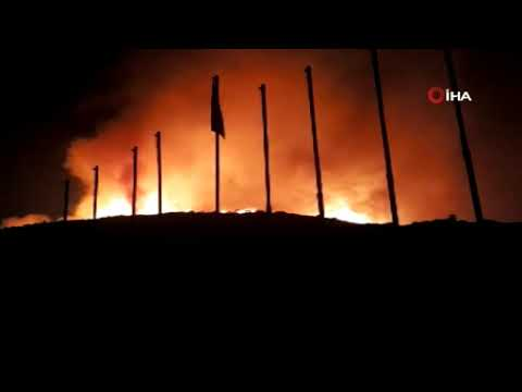 İzmir'deki yangın büyüyor: Siteler boşaltıldı