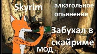 Skyrim. Алкаш мод. Мод на алкогольное опьянение. Обзор от лиса-довакина.
