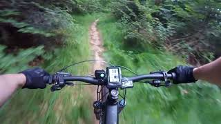 Canyon Spectral:ON E-Bike let's ride eMTB trail Test 7.0