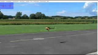 Lernvideo 3D Heli Fliegen , Teil1: Die Grundlagen