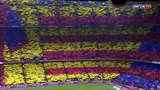 Mosaic FC Barcelona Real Madrid (2015)