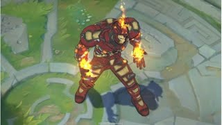 mod skin lol - custom skin Brand Iron Man
