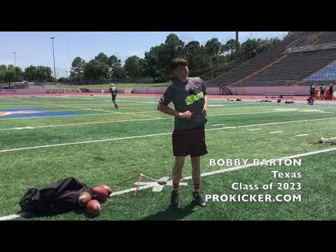 Bobby Barton, Prokicker.com Kicker, Class of 2023, Texas
