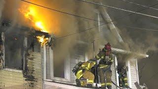 3rd Alarm House Fire, 412 Race St. Catasauqua, Penna. 06/27/16