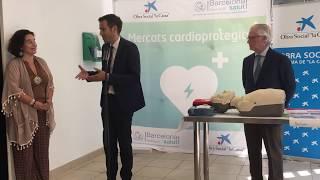 Sitges, una de les primeres localitats d'Europa amb el seu mercat cardioprotegit