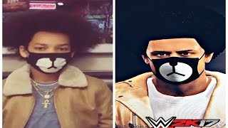 SHMATEO IN WWE 2K17!!? | HOW TO MAKE TEO IN WWE 2K17