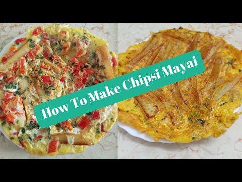 How To Make Chipsi Mayai - 07.2018