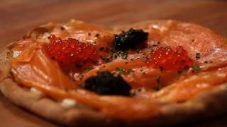 Wolfgang Puck's Smoked Salmon Pizza Recipe From Spago