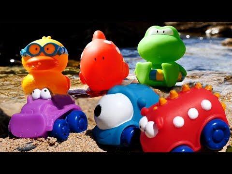 Con Maria al mare - Giocattoli per bambini - animaletti e macchinine
