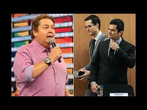 Em diálogos, Moro revela conselho de Fausto Silva à Lava Jato