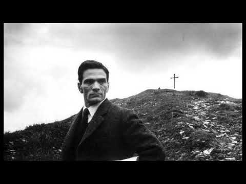 Vidéo de Pier Paolo Pasolini
