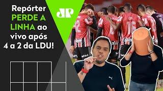 'O São Paulo virou a casa da mãe Joana', diz repórter após derrota do Tricolor