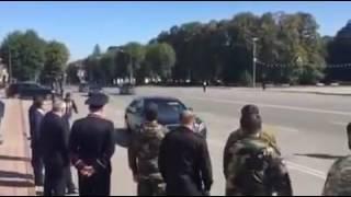 Встречу Кадырова засняли на камеру