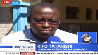 Ghasia chuoni Nairobi baada ya kifo cha kiongozi wa zamani katika chuo hio