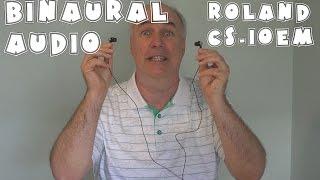 Affordable Binaural Audio- Roland CS-10EM Review   EpicReviewGuys 4k CC